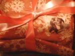Detail of the wrapped presents